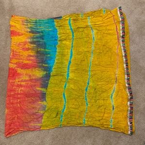 Scarf Purchased in India, Handmade in India